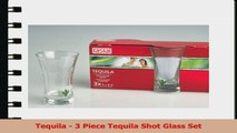 Tequila  3 Piece Tequila Shot Glass Set c6764060