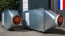 Air purification systems could turn car parks into lungs of Dutch city
