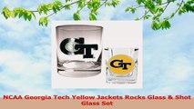 NCAA Georgia Tech Yellow Jackets Rocks Glass  Shot Glass Set b983a6ed