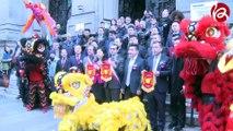 JT 01-02-2017 : L'Association de Commerce de Prêt à Porter Franco-Chinois fête le Nouvel An Chinois à la Mairie du 10ème