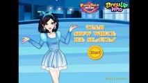 Teen Snow White Ice Skates - Frozen Game Movie