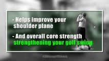 Golf Fitness Series: Tip 11 - Swiss ball roll out