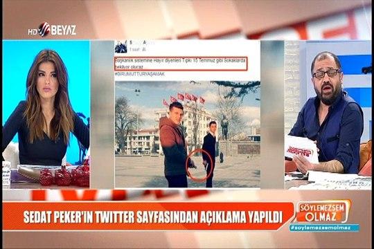 """Sedat Peker """"Evet"""" kampanyasına böyle katıldı"""
