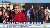 """Agression au Louvre: """"On nous a guidé dans une salle (…) puis fouillés à la sortie"""", cet enseignant raconte comment s'est déroulé le confinement"""