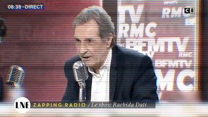 Zapping Radio : Le show Rachida Dati dans Bourdin Direct