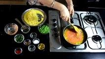 Sweet Corn Matar Curry - Sweet Corn and Green Pea Tomato Curry