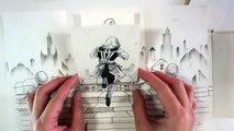 Assassin's Creed en stop motion papier hallucinant réalisé par Serene Teh