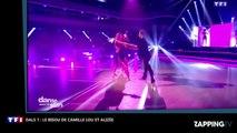 DALS 7 : Camille Lou et Alizée s'embrassent, revivez ce moment glamour et sexy (Vidéo)