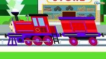 Caricaturas de trenes - Trenes infantiles - Dibujos Animados Educativos - Vídeos de Trenes