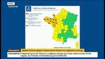 Tempête: La Charente-Maritime, la Charente et la Gironde en alerte rouge vents violents