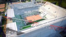 Modernisation de Roland-Garros