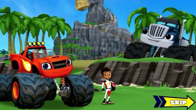 BLAZE AND THE MONSTER MACHINES - Blaze Dragon Island Race - Full Game