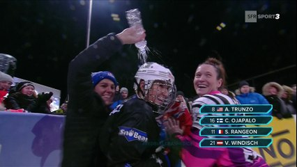 Crashed Ice - Finlande - Sandrine Rangeon arrache le podium