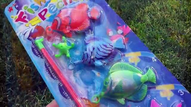Fishing Game Toy Lets Go Fishin Fishing Pêche 釣りゲーム 낚시 게임 Juego de Pescar Toy Videos