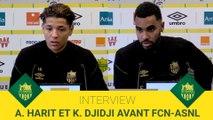 Amine Harit et Koffi Djidji avant FCN-ASNL