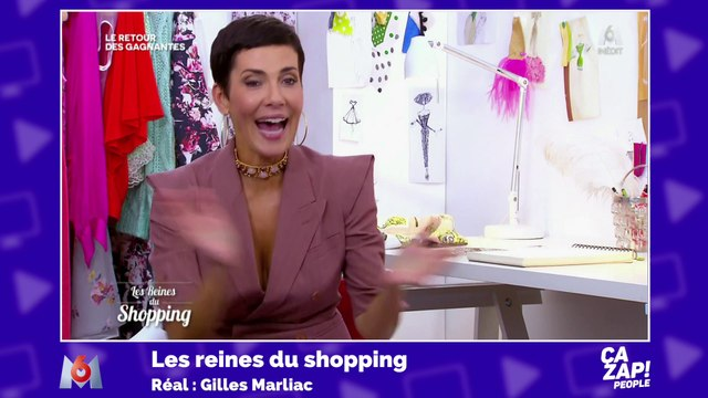 Cristina Córdula éclate de rire après la remarque osée d'une participante aux Reines du Shopping