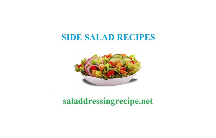 Side salad recipes and ingredients