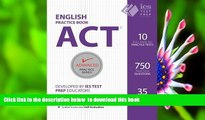 FREE [DOWNLOAD] ACT English Practice Book (Advanced Practice Series) (Volume 7) Khalid Khashoggi
