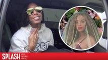 Kelly Rowland réagit à peine à l'annonce de la grossesse de Beyoncé