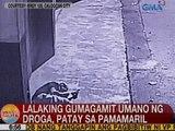 UB: Lalaking gumagamit umano ng droga, patay sa pamamaril sa Caloocan