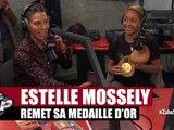Estelle Mossely remet sa médaille d'Or à Zaho dans Planète Rap