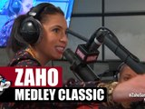 Medley classic de Zaho en live #PlanèteRap