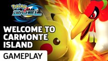 Pokemon Duel - Welcome To Carmonte Island Gameplay