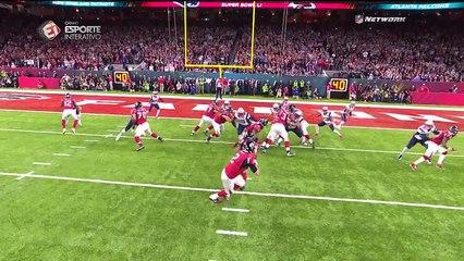 Os melhores momentos de New England Patriots e Atlanta Falcons!