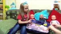 ✔ Беби Борн и Ненуко. Новая одежда для кукол. Подарки для Ярославы от бабушки. Видео для детей ✔