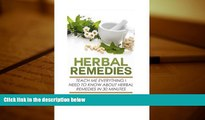 PDF  Herbal Remedies: Teach Me Everything I Need To Know About Herbal Remedies In 30 Minutes