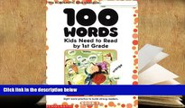 PDF  100 Words Kids Need to Read by 1st Grade: Sight Word Practice to Build Strong Readers For