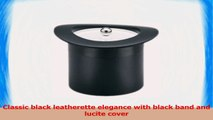 Kraftware Top Hats Black with Black 3Quart Top Hat Ice Bucket with Band and Lucite Cover 956bbb0e