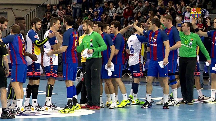 [HIGHLIGHTS] HANDBOL (ASOBAL): Granollers - FC Barcelona Lassa (20-31)