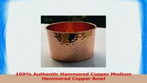 STREET CRAFT 100 Authentic Hammered Copper Medium Hammered Copper Bowl 9bf47963
