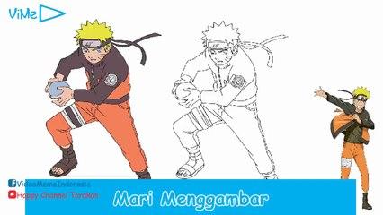 ViMe Indonesia - Cara Menggambar Naruto [Admin N]