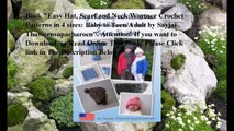 Download Easy Hat, Scarf and Neck Warmer Crochet Patterns in 4 sizes: Baby to Teen/Adult ebook PDF