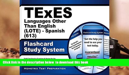 [PDF] TExES Languages Other Than English (LOTE) - Spanish (613) Flashcard  Study System: TExES