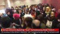Rıdvan Dilmen'in Başlattığı 'Evet' Kampanyasına Binali Yıldırım Karşı Çıktı