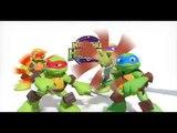 Playmates Toys Teenage Mutant Ninja Turtles Half-Shell Heroes Mega Mutant Leo TV Toys Commercial