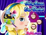 Newest Baby Anna Ear Doctor Video Episode-Frozen Baby Movie Games-Baby Princess Games