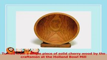 12 Inch Solid Cherry Wood Salad Bowl  Holland Bowl Mill f966ecd3