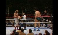 WWE WrestleMania 1 - Big John Studd vs. André The Giant