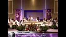 Dorinda Clark Cole On Fire For The Lord Preaching Day and Night At GCT COGIC!