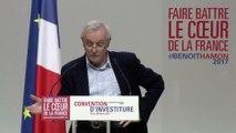 Discours de Jean Jouzel à la convention d'investiture de Benoit Hamon