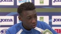 Avant Valenciennes - HAC, interview d'Alimami Gory