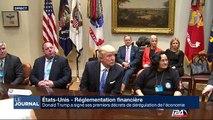 Trump a signé ses premiers décrets de régulation de l'économie