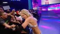Kelly Kelly, Michelle McCool and Cherry vs. Natalya, Maryse and Victoria