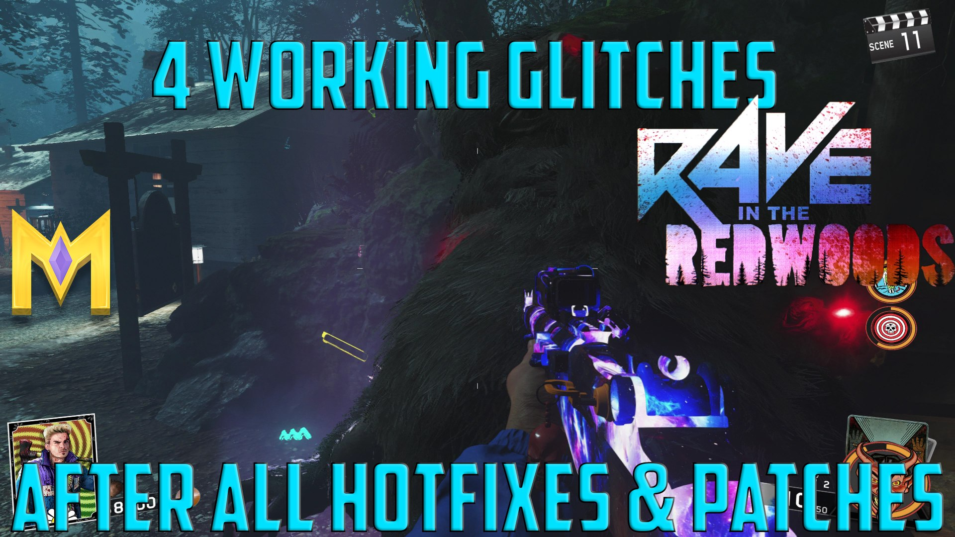 Rave In The Redwoods Glitches - 4 WORKING Glitches AFTER All Hotfixes
