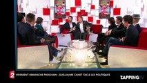 """Guillaume Canet - Vivement dimanche prochain : """"on est gouvernés par des menteurs"""" (VIDEO)"""