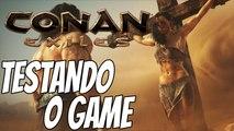 Conan Exiles Gameplay em português - SURVIVAL, RPG E CONSTRUÇÕES!! - Testando o game #01